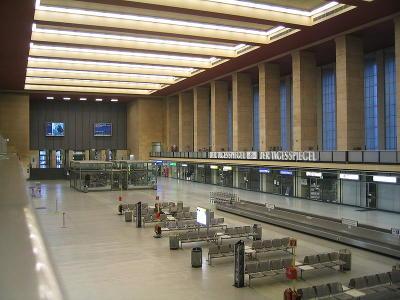 Flughafen Berlin Tempelhof Halle