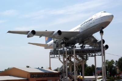 Boeing 747 im Technik-Museum Speyer