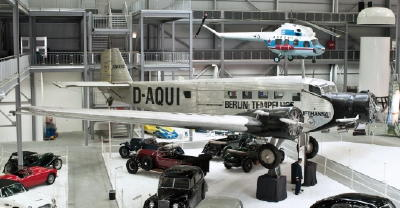 Junkers JU 52 im Technik Museum Speyer